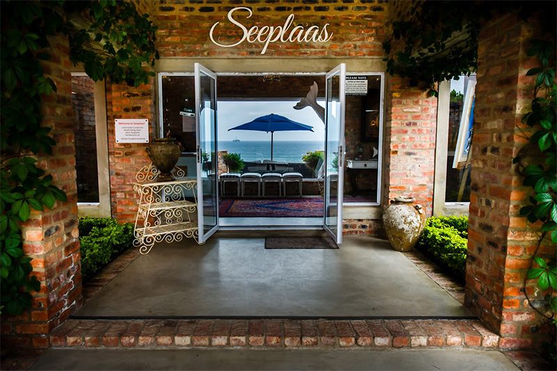 Seeplaas entrance